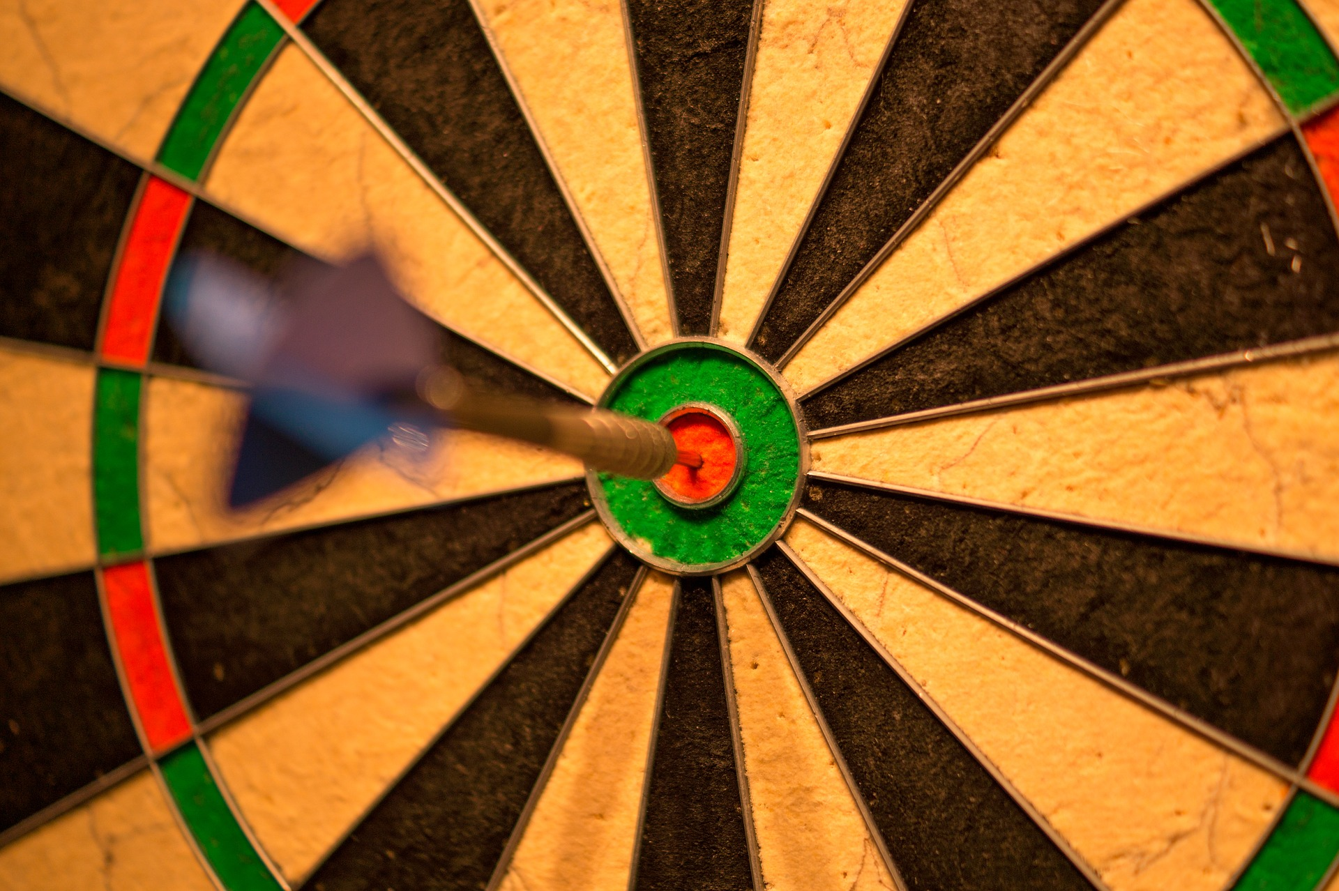 Your Goal In The Bullseye